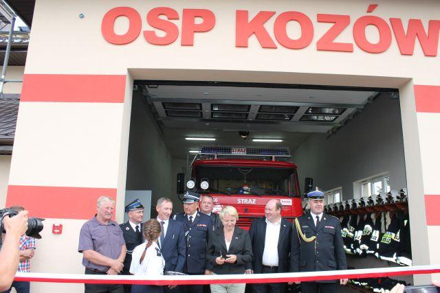 Otwarcie świetlicy w Kozowie 09