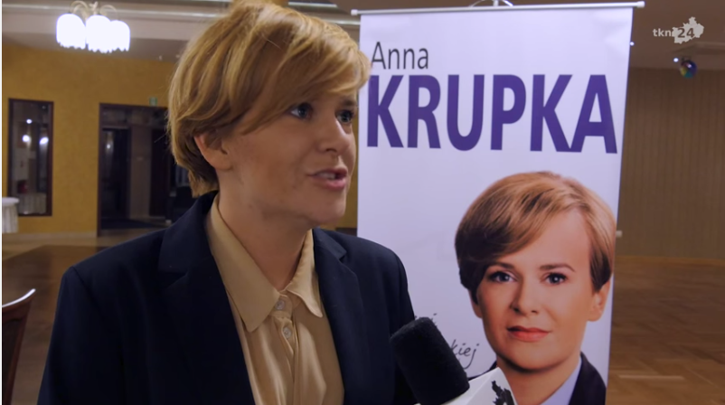 Anna Krupka, PiS