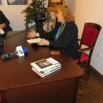 Spotkanie z Aleksandrą Ziółkowską Boehm 04