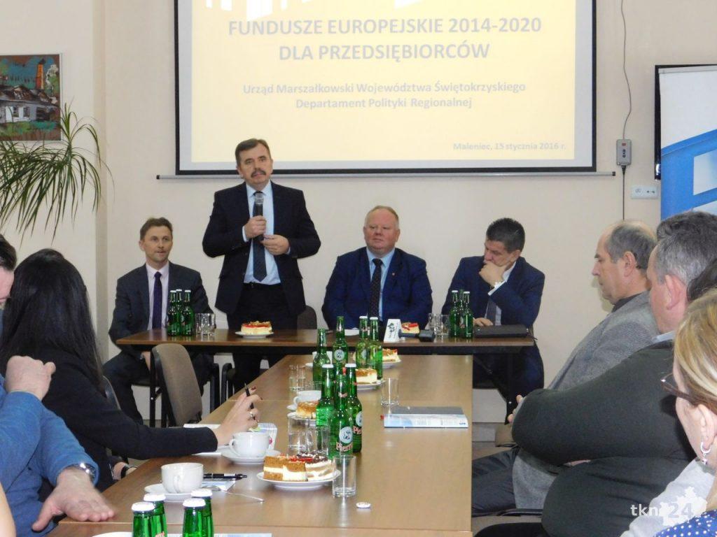 Konferencja dla przedsiębiorców w ZZH Maleniec 06