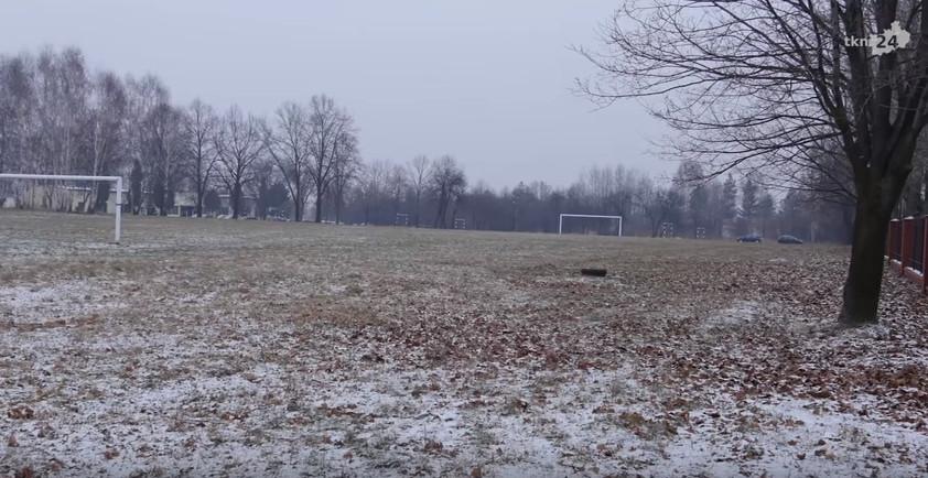 Obóz znajdował się mniej więcej na terenie boiska sportowego ZSP nr 2 w Końskich.