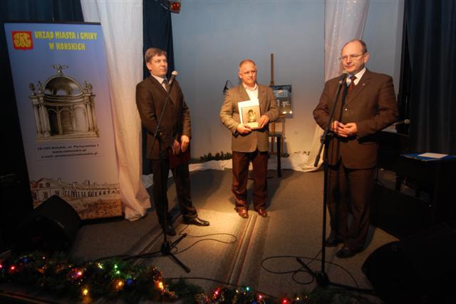 Od lewej: Dariusz Kowalczyk, Zbigniew Stańczyk, Krzysztof Obratański.