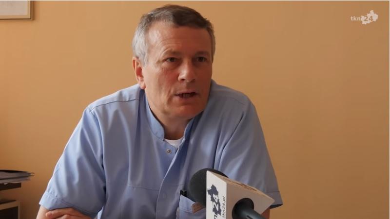 Doktor Wojciech Przybylski.