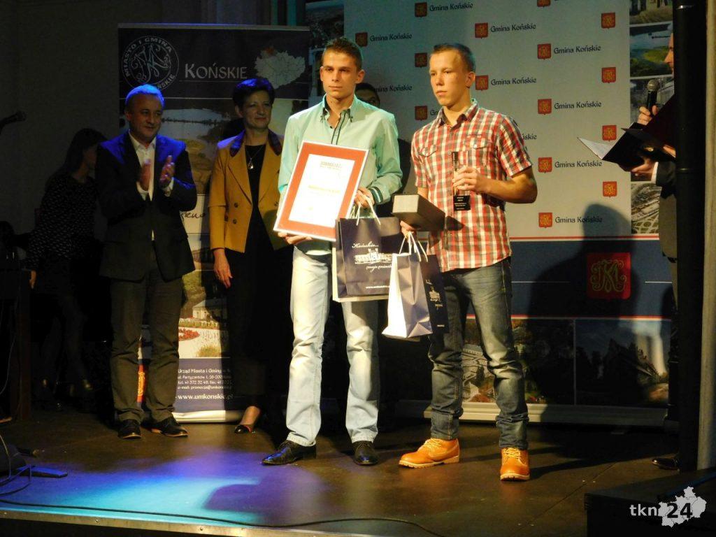 Najlepsi Niepełnosprawni Sportowcy: Wojciech Pęczak i Damian Baczewski.