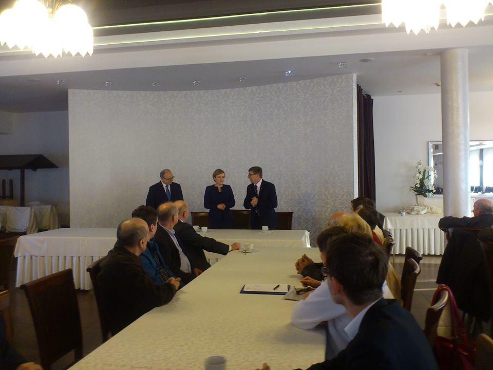 Spotkanie z poseł Anną Krupką odbyło się w koneckiej sali bankietowej Astoria.