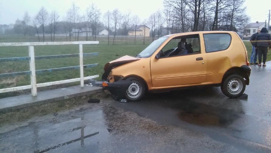 Wypadek w Piaskach Królewieckich