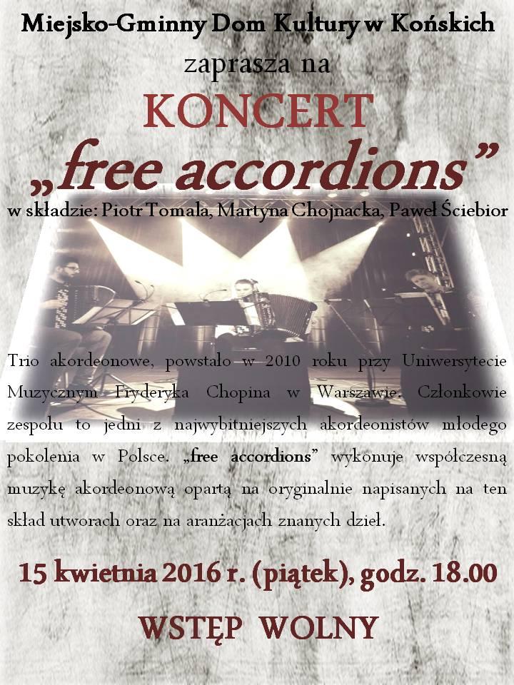 free acordions