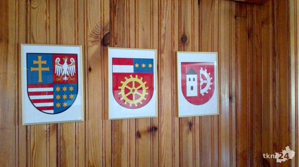 Nadanie herbu gminie Słupia 01