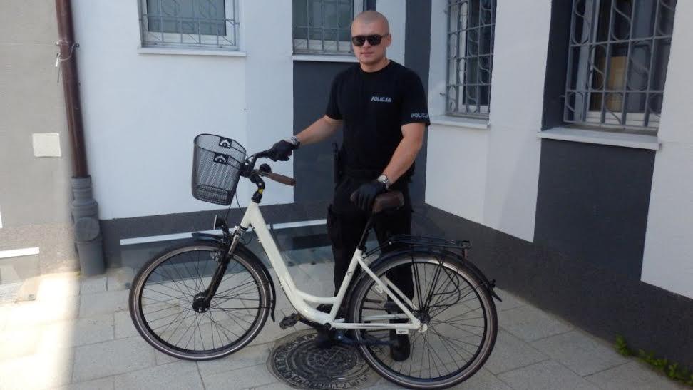 Odzyskany rower 1