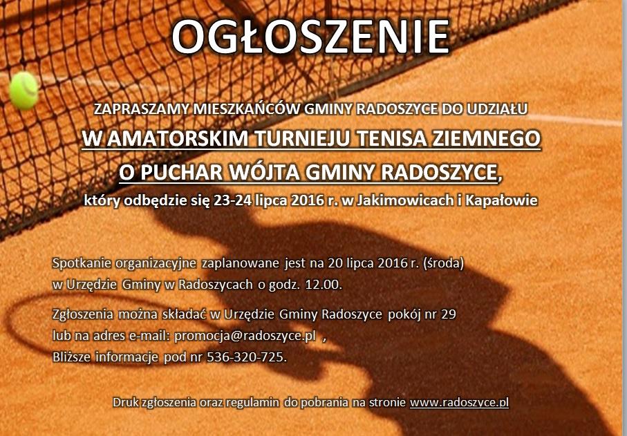 Tenis Ziemny Radoszyce