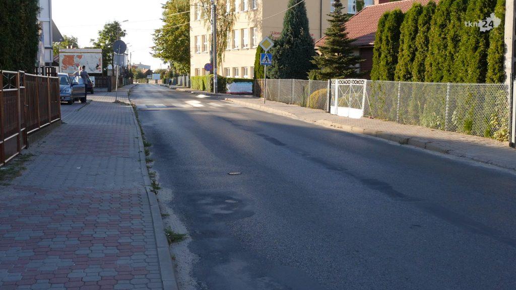 Do remontu jest między innymi ulica Gimnazjalna.