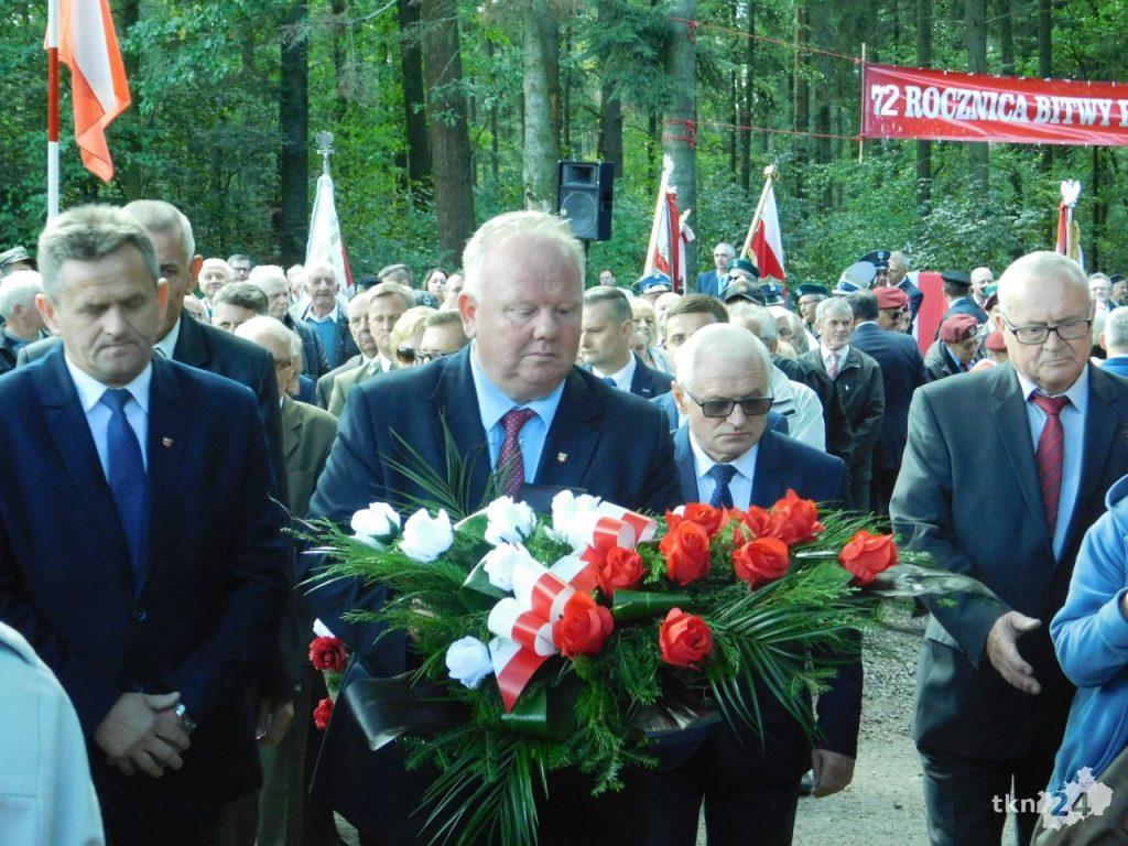 Pod Gruszką pojawiły się także władze powiatowe.